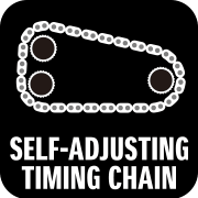 SELF-ADJUSTING TIMING CHAIN