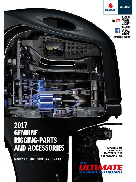 Suzuki Marine Genuine Rigging-Parts and Accessories 2017