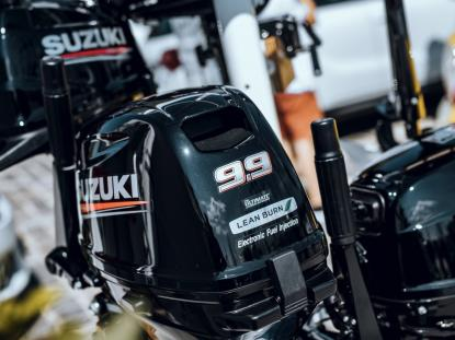 INTRODUCING THE NEW SUZUKI DF9.9BES OUTBOARD
