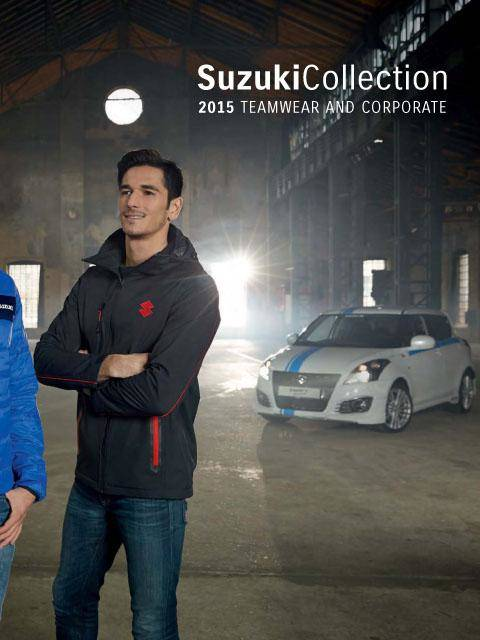 Suzuki Clothing and Accessories Catalog 2015 Teamwear
