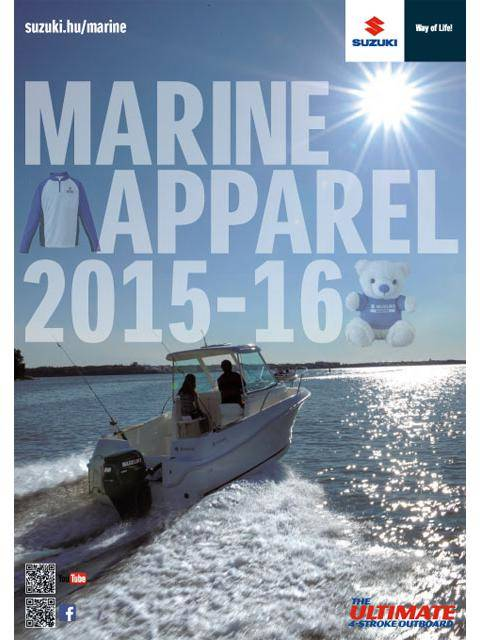 Suzuki Marine Clothing and Accessories Catalog 2015/2016