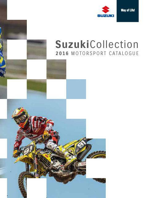Suzuki Motorsport Catalog 2016