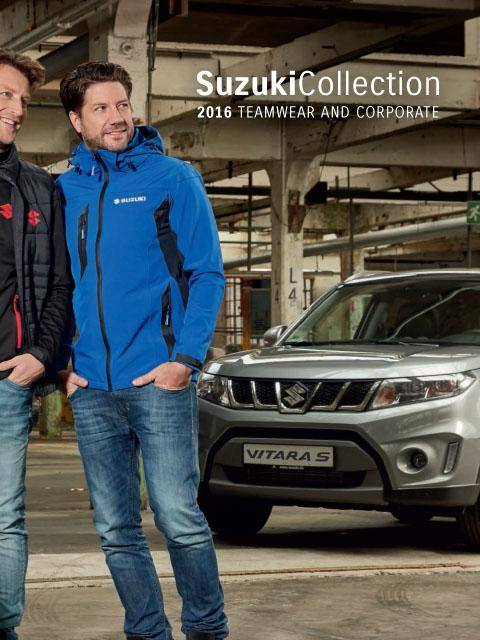 Suzuki Clothing and Accessories Catalog 2016 Teamwear