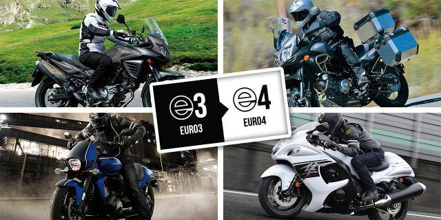 The last oppurtinity in this year to buy EURO 3 motorcycles