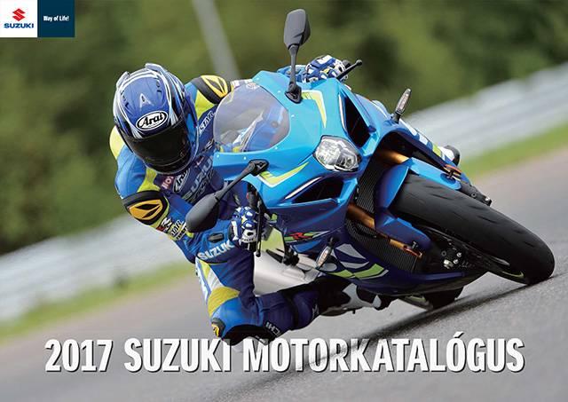 2017 Suzuki Motorkatalógus