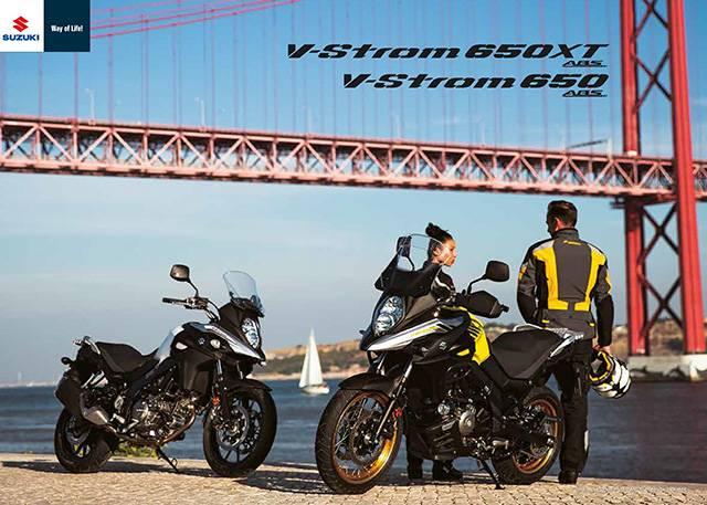 V-Strom 650/XT ABS 2017