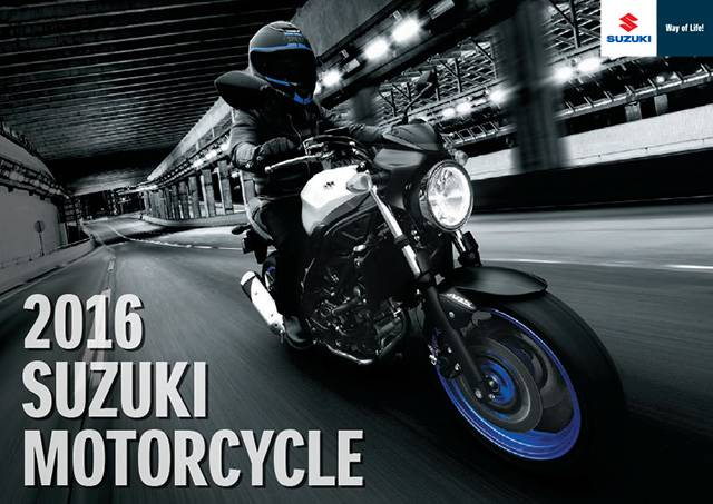 2016 Suzuki Motorcycle