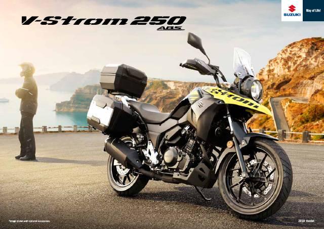 V-Strom 250 ABS 2018