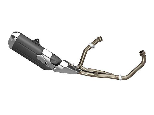 Lighter and Lower Exhaust System