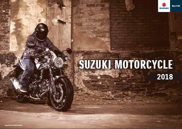2018 Suzuki Motorcycle