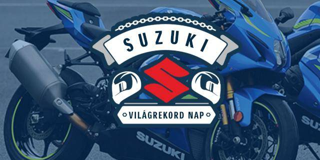 SUZUKI WORLD RECORD DAY -       9th of June at Hungaroring