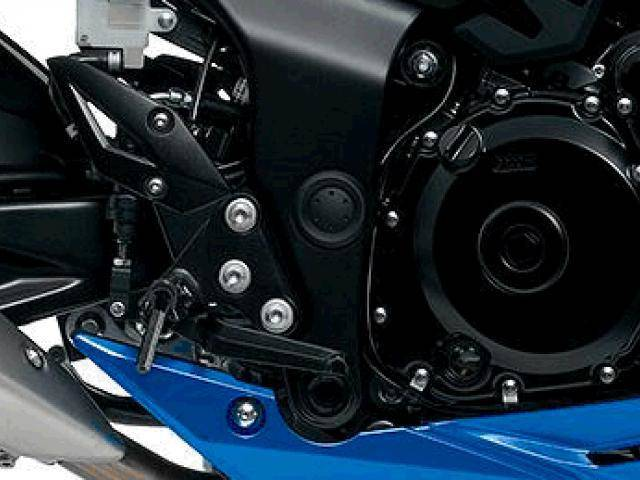 Lightweight black footpegs