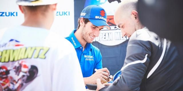 Suzuki MotoGP Team visits European GSX-R Meeting