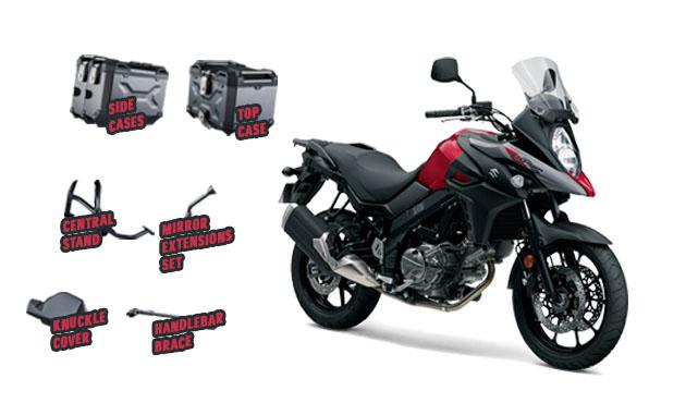 V-Strom 650 Adventure pack offer
