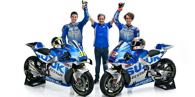 New Season and New Colors - Team Suzuki ECSTAR 2020 and Motorcycle Show
