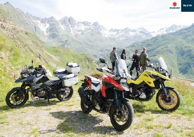 Suzuki Motorcycle Catalogue 2020