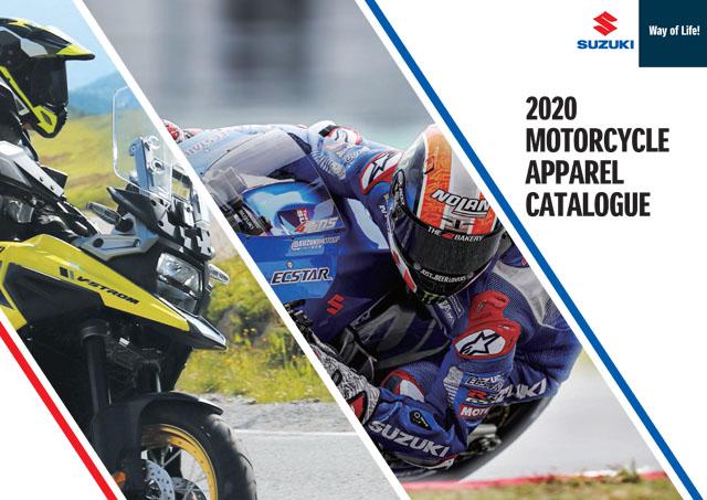 Suzuki Motorcycle Apparel Catalogue 2020